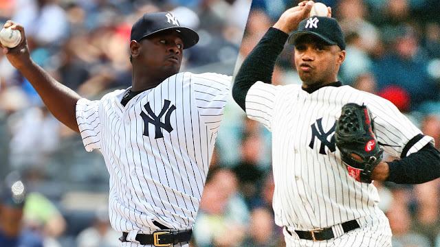 El cubano el Duque Hernández ha sido el único latino en conseguir esta hazaña con los Yankees, Severino va en camino a repetir el hecho