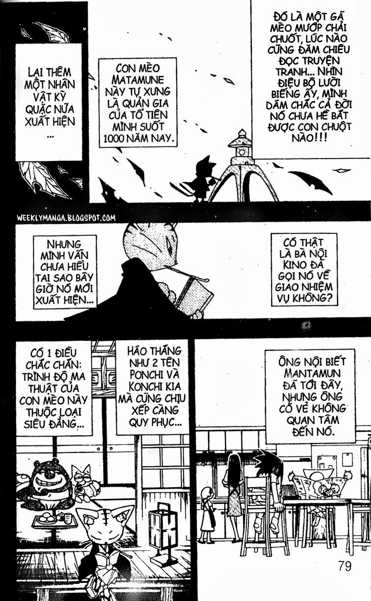 Shaman King [Vua pháp thuật] chap 163 trang 13