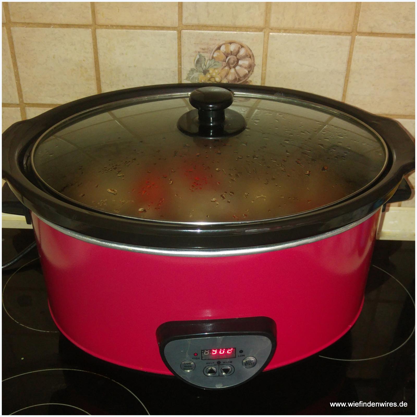 Bankett Slow Cooker Schongarer Digital 6,5 Liter von Klarstein + Rezepte