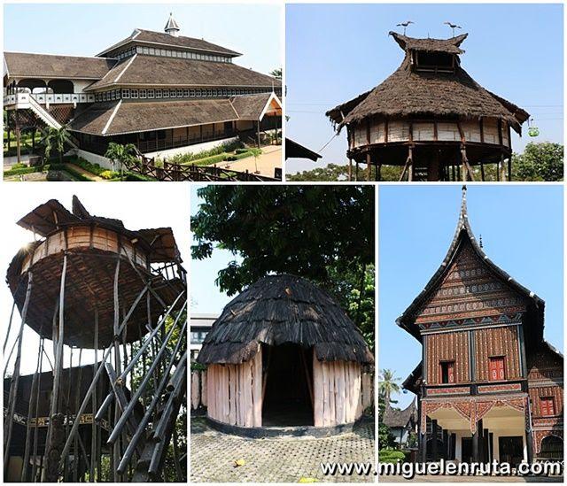 Taman-mini-casas-tradicionales