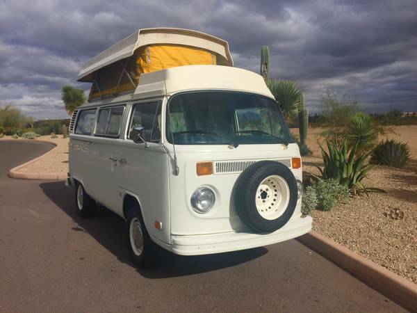 used rvs 1974 volkswagen riviera camper for sale for sale by owner. Black Bedroom Furniture Sets. Home Design Ideas