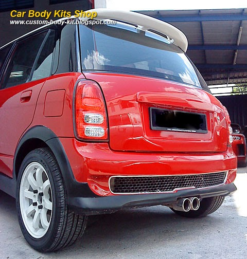 Perodua Kelisa Custom Body Kit Rear  Custom Body Kits