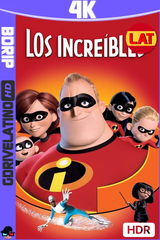 Los Increíbles (2004) BDRip 4K HDR Latino-Ingles MKV