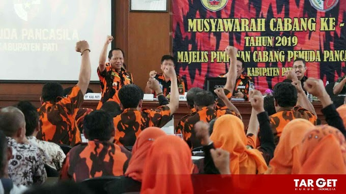 Tanpa Skenario dan Penggalangan Massa, Pemilihan Ketua Pemuda Pancasila Pati Berjalan Alami