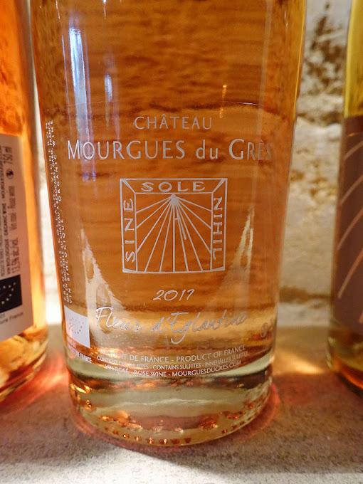 Château Mourgues du Grès Fleur d'Eglantine 2017 (88 pts)