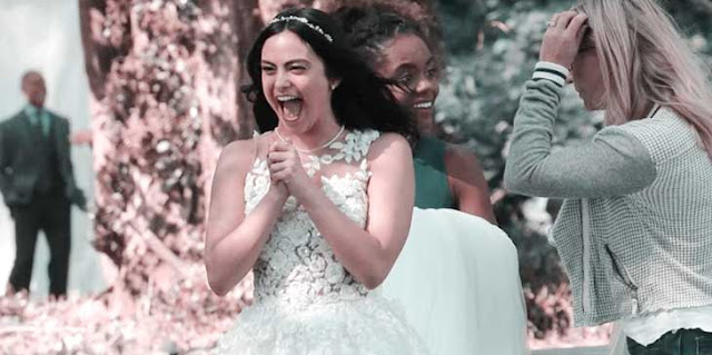 Camila Mendes In A Wedding Dress