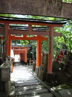 torii e tumuli si fondono insieme