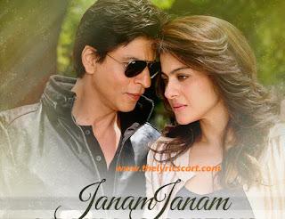Lyrics of Janam Janam