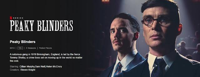 Peaky Blinders Web series