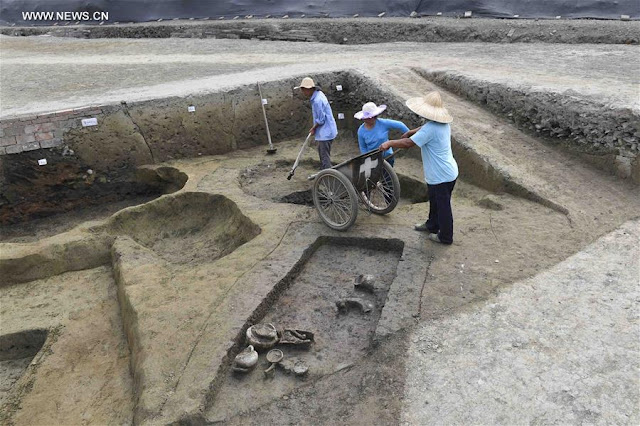 Remains of lost temple discovered after 1,000 years in Chengdu