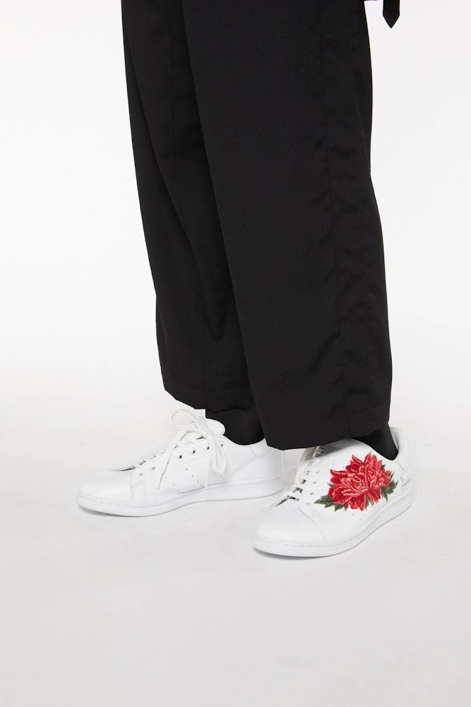 Y's A/W 2020 - Adidas Stan Smith featuring Peony flower 4