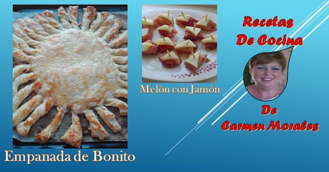 Empanada de Bonito y Melón con Jamón