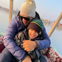 arjun bijlani with here son