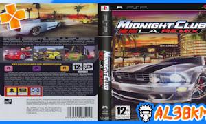 تحميل لعبة Midnight Club: LA Remix PSP مضغوطة لمحاكي ppsspp