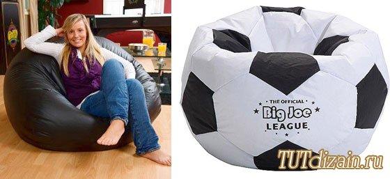 Como hacer un sillon puf con la forma de una pelota de futbol - Cojines de bolitas ...