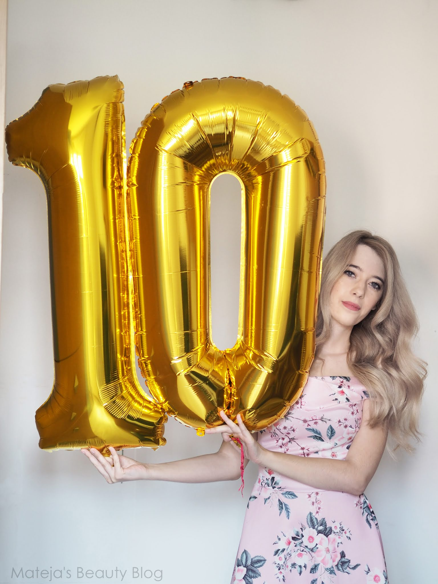 It's Mateja's Beauty Blog's 10th Birthday + a Giveaway