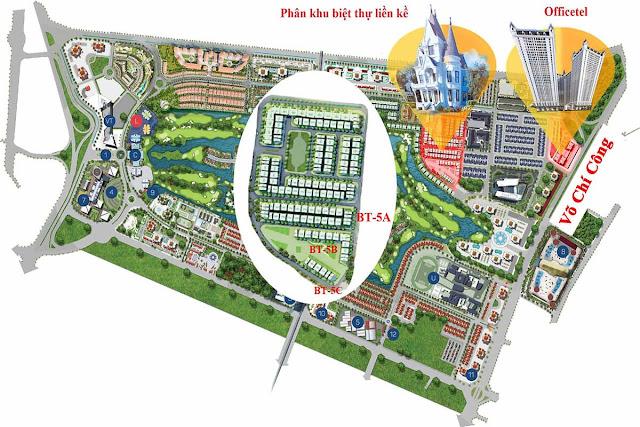 Tổng quan dự án Vimefulland Ciputra - The Lotus Central Võ Chí Công, Tây Hồ, Hà Nội