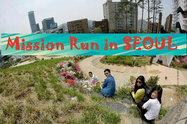 MISSION RUN - The Fun Way to Tour Seoul with TRIS