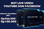 Bot Live Facebook dan Youtube