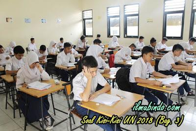 Soal Latihan dan Kunci Jawaban Kisi-Kisi UN Bahasa Indonesia Tahun 2018 (Bag. 3)