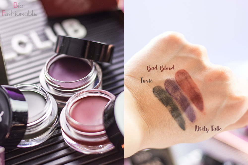 NYX Professional MakeUp Glazed & Confused Eye Gloss offen Swatches