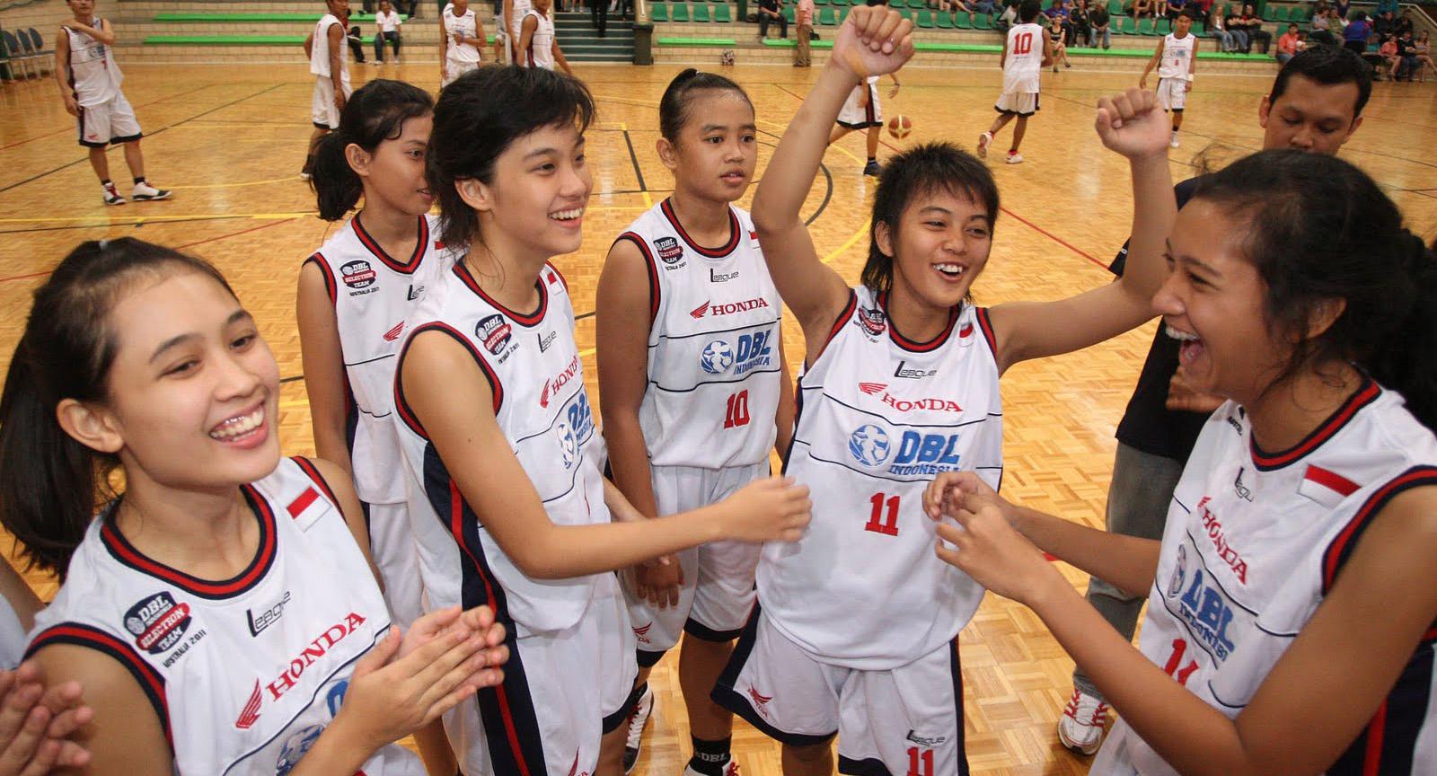 eskul siswi SMA Seksi dan Cantik keren  jaman now tim basket