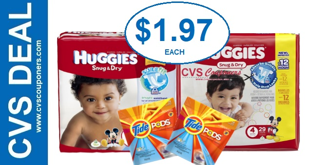 CVS Cash Card Huggies Diaper Deal 12-8-12-14