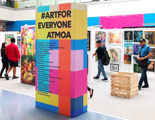 Art For Everyone at SM MOA