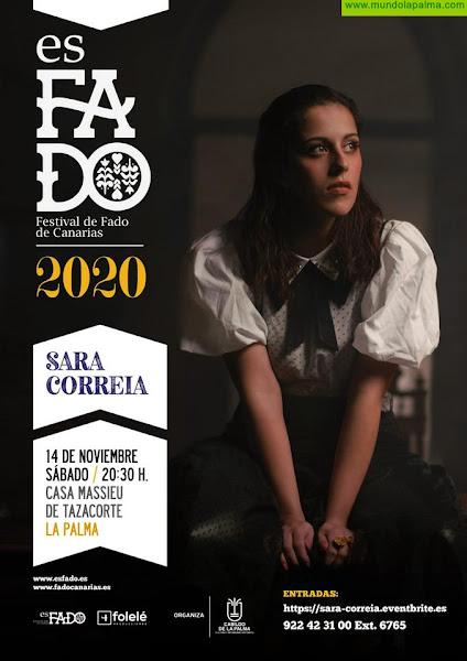 La gran referencia del nuevo fado Sara Correia  acerca a La Palma el alma de Portugal