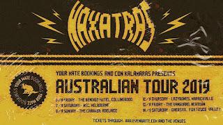 Naxatras - Australian tour 2019