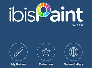 ibis paint X aplikasi pembuat logo terbaik