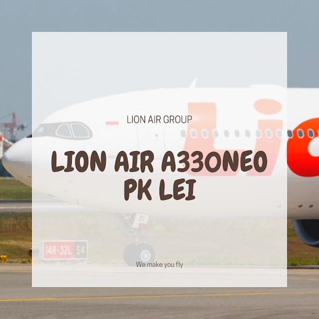 Pesawat A330neo lion air