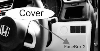 Cara menemukan letak sekering Honda brio satya