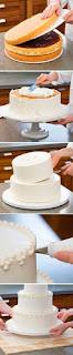 Resep Cara Membuat Kue Tart Pengantin 2-3 Tingkat Sederhana Cantik