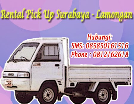 Rental Pick up Zebra Surabaya-Lamongan