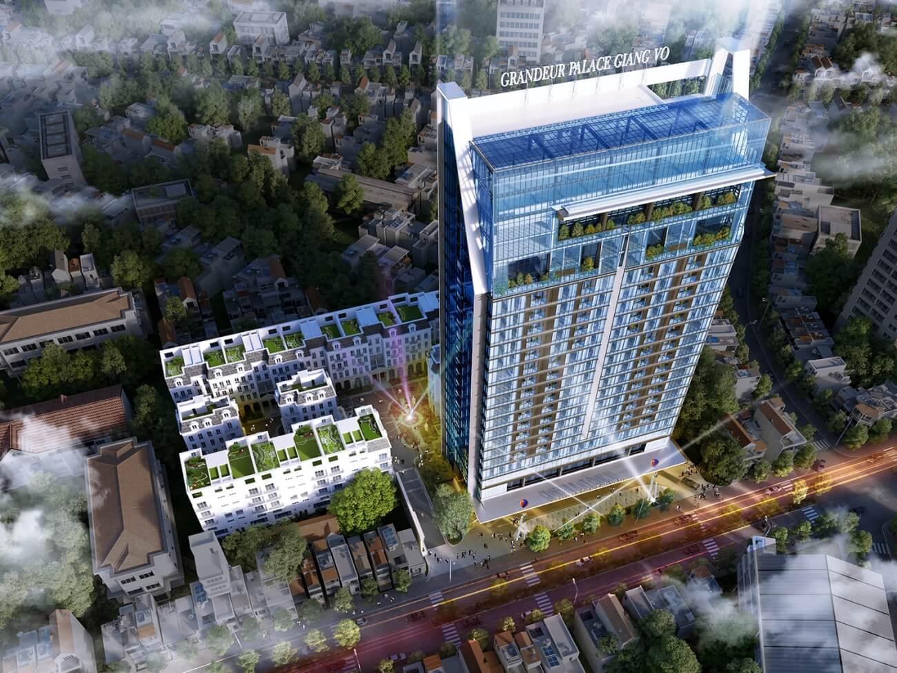 Quy hoạch tổng thể dự án Grandeur Palace Giảng Võ
