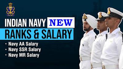 Indian Navy New Rank and Salary