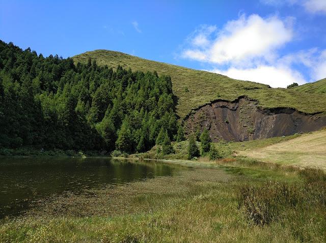 Lagoa dos peixes en Sao Miguel (Açores)