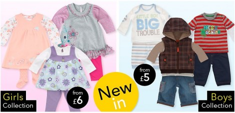 Asda kids clothing