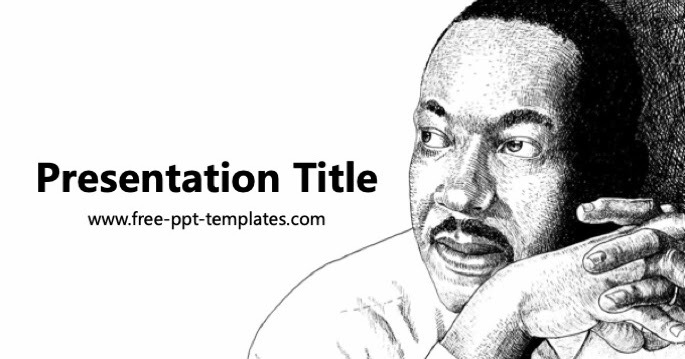 martin luther king day ppt template