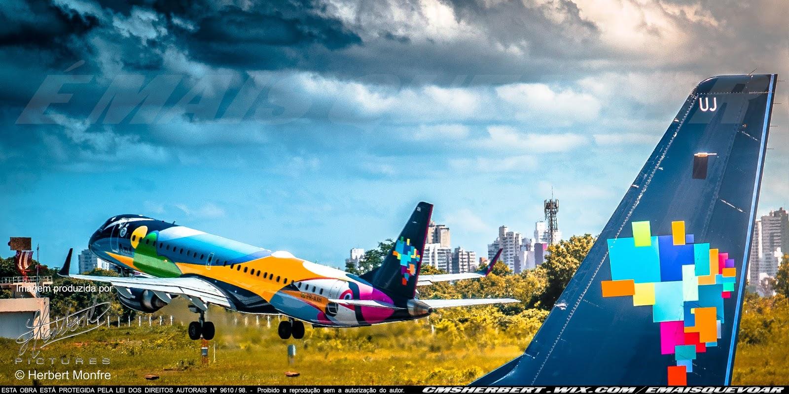 Azul terá dois mil voos extras durante a alta temporada de inverno | Foto © Herbert Monfre - É MAIS QUE VOAR