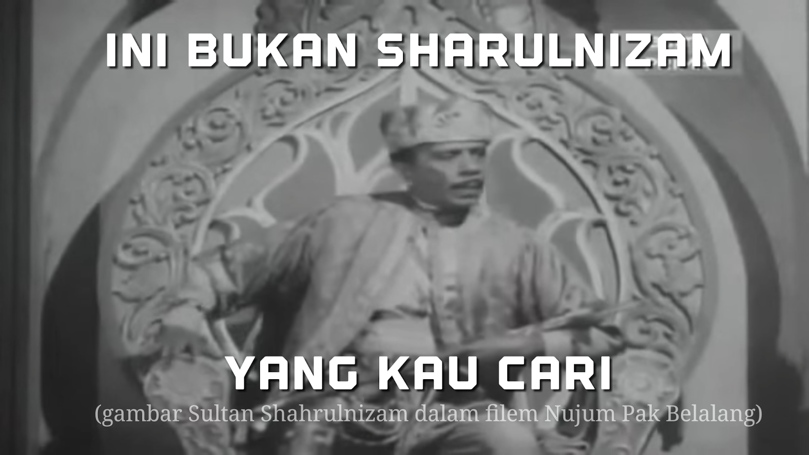 Sultan Shahrulnizam Nujum Pak Belalang