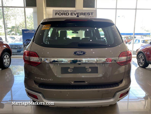 Ford Everest, Ford Everest Titanium, Ford Everest Sport, Ford Philippines, Ford, Ford Negros Showroom, Ford sales, Ford Everest review, Ford Everest test drive, test drive, vehicle review, toys for big boys, family car, modern car, safe vehicle, blind spot, environment-friendly car, fuel saver, powerful engine, 7-seater, SYNC-3, Smart Keyless Entry, push button start, rain sensing wipers, Best Mid-Sized SUV for 2020, about the Ford Everest, rear view