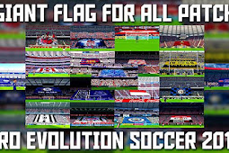 Giant Flags Mod For Stadium Pack - PES 2017