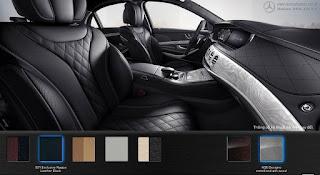 Nội thất Mercedes S450 L Luxury 2018 màu Đen 501