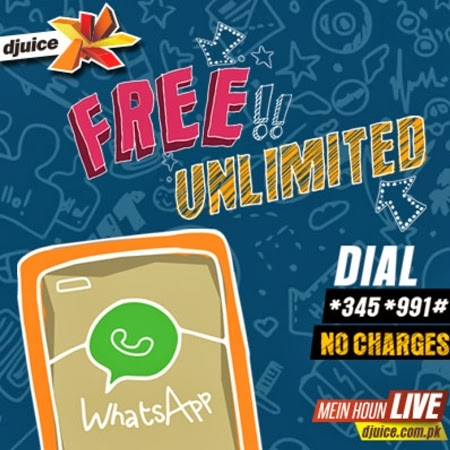 Djuice Free WhatsApp