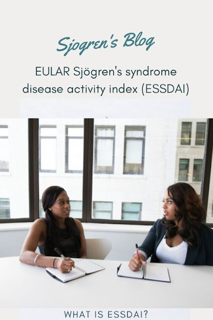 what is EULAR Sjögren's syndrome disease activity index