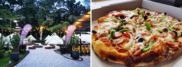 Pizza Kayu Api Glamping