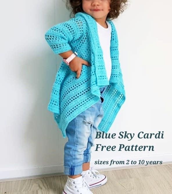 sweter dla dziewczynki ze wzorem