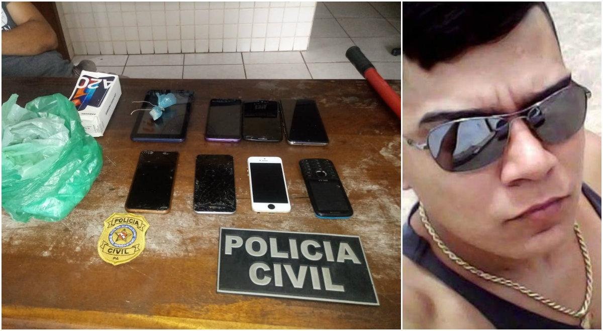 Acusados de roubo, tráfico de drogas e formação de quadrilha são presos em Óbidos